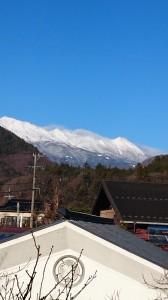 初春の御嶽山